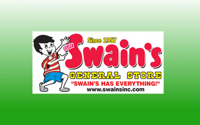 Thank you to Swain's General Store